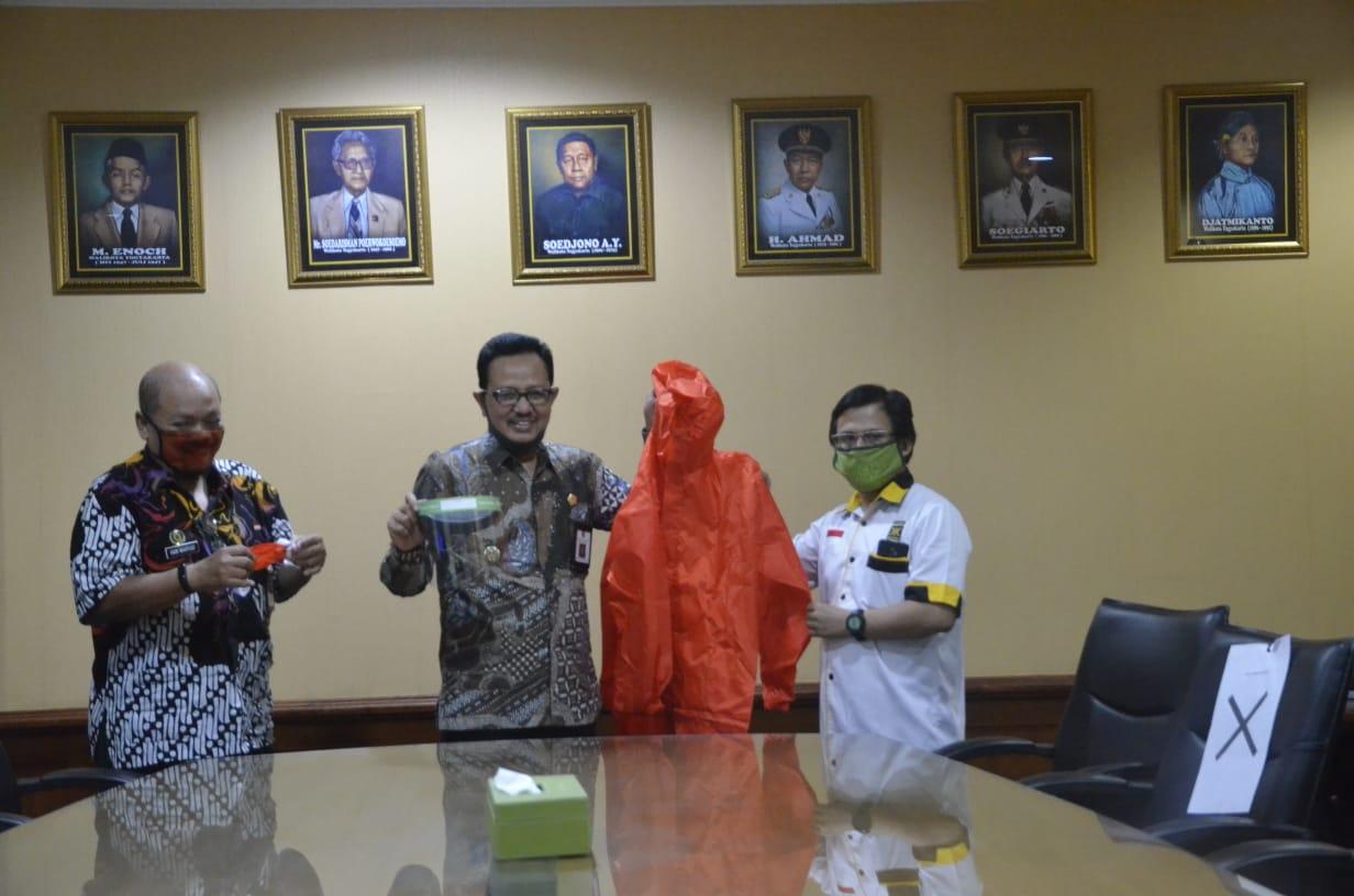 Sumbang APD, FPKS DPRD Kota Jogja Potong Gaji