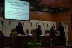 Fraksi DPRD Kota Jogja Sampaikan Pandangan atasPerubahan APBD 2020