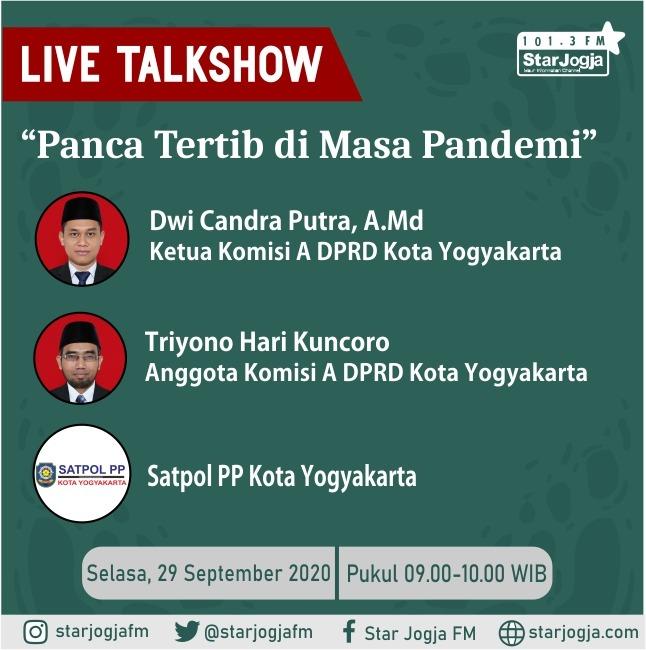 Talkshow Interaktif Dewan Panca Tertib di Masa Pandemi