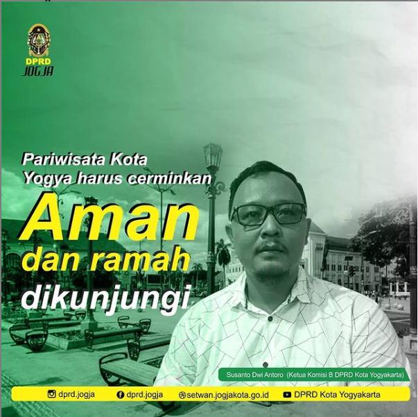 Pariwisata Kota Yogyakarta Harus Cerminkan Kota Aman dan Ramah Dikunjungi