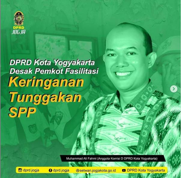 DPRD Kota Yogyakarta Desak Pemkot Fasilitasi Keringanan Tunggakan SPP