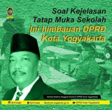 Soal Kejelasan Tatap Muka Sekolah, Ini Himbauan DPRD Kota Yogyakarta