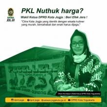 PKL Nuthuk Harga? Wakil Ketua DPRD Kota Yogyakarta : Beri Efek Jera !