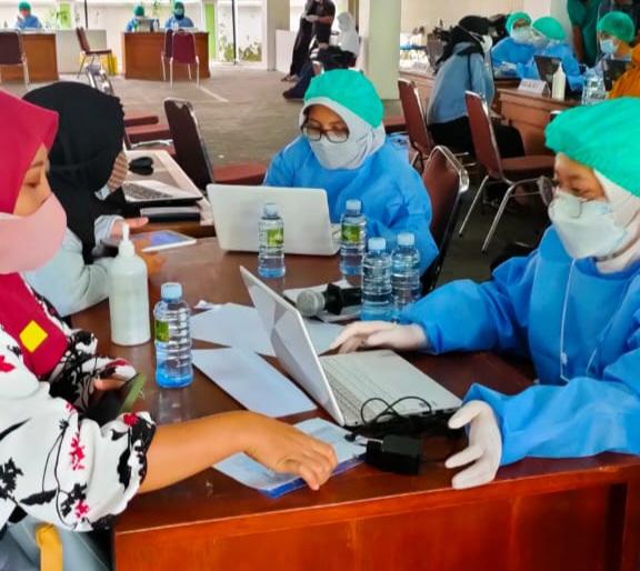 DPRD Kota Yogya Mulai Gelar Vaksinasi Massal Sasar 3.000 Warga