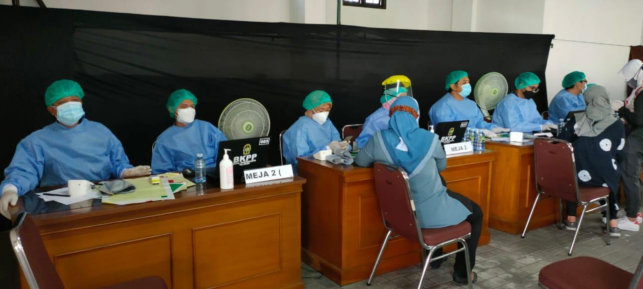 Vaksinasi Covid 19 DPRD Kota Yogyakarta